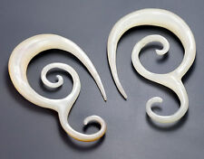 Mother of Pearl ASCETICAL Hanger Organic Jewelry - 2mm - 8mm - Price Per 1