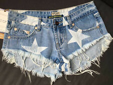 Low Waist Shorts Sexy Stars Denim Jeans Shorts Short Mini Women Hot Pants