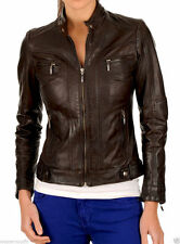 NEW Womens 100% Leather Lambskin Jacket Coat, Made to your Measurements - WJ135
