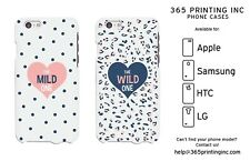 Polka Dot / Leopard Matching White Phone Cases iphone, Galaxy S, Note 4, M8, G3