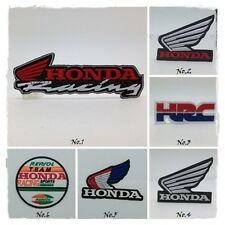 Honda Racing Sew Iron On Patch Embroidered HRC Wing Motor Racing Sport Badge New
