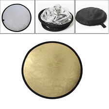 60/80/110cm 2in1 Light Mulit Photo Board Disc Collapsible Photography Reflector