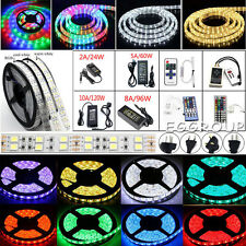 1M-20M 5050 SMD 300-1200 LEDs Flexible Strip Light Lamp / Remote / Power Supply