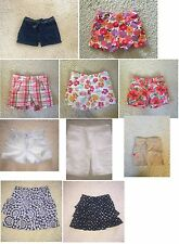 Gymboree girls shorts spring sumer U CHOOSE size 7 po EUC