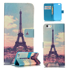 Luxury -ZHYB Eiffel Tower Magnetic Wallet Leather Case Cover For Call phone