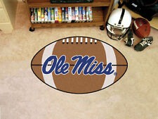 University of Mississippi Ole Miss Rebels Football Area Rug Mat Carpet 22 x 35
