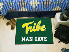 William & Mary Tribe Man Cave Starter Mat NCAA Team Fan Area Rug 19x30