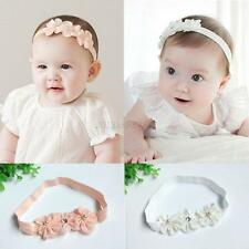 Hot Kids Girl Baby Headband Headdress Toddler Three Flower Hair Band Accessories