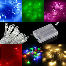 CLEARANCE SALE Battery Powered LED Fairy String Lights 13ft 40 4M: Static +Flash