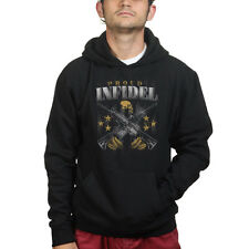 Proud Infidel Guns AR-15 AK47 Semi Auto Rifle Pistol Sweatshirt Hoodie Shirt