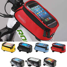Waterproof  Bicycle Bike Cycling Frame Pannier Front Top Tube Phone Bag Pouch