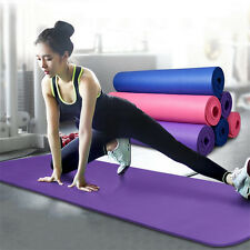 """Waterproof 68*24*1/4"""" Yoga Mat Pad Non-Slip Durable Exercise Fitness Pilates OY"""