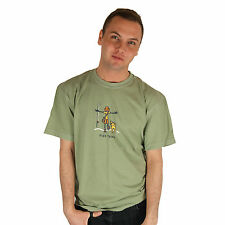 Life is Good Mooreland Green Jake Rocket Fish Tales Tee Mens Crusher T-Shirt NWT