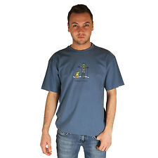 Life is Good Shadow Blue Jake Rocket Happy Trails Tee Mens Crusher T-Shirt NWT