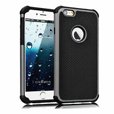 Shockproof Hybrid Rugged Rubber Hard Case Cover Skin For iPhone 6S 4.7&6S Plus