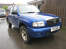 55 PLATE MAZDA B2500 4X4 DOUBLE CAB TD