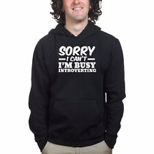 Sorry Introverting Funny Gamer Geek Gaming Game Sweatshirt Hoodie