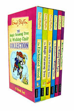Magic Faraway Tree Series 6 Books Collection Box Set By Enid Blyton New Pack UK