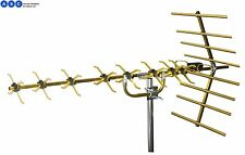 HIGH GAIN PHILEX SLX GOLD 48 ELEMENT 4G READY DIGITAL FREEVIEW TV AERIAL
