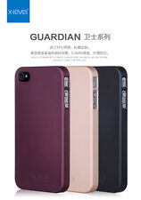 Xlevel Ultra Thin Matte Solid TPU Hard Case Back Cover For iPhone 4/4S