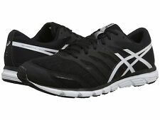 ASICS GEL ZARACA 4 BLACK WHITE WOMENS RUNNING SHOES **FREE POST AUSTRALIA