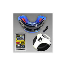 BRAIN PAD 3XS MOUTH PIECE MOUTHGUARD w/ case MMA HOCKEY BOXING FOOTBALL RUGBY