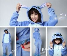 Hot Stitch Unisex Adult Kigurumi Pajamas Anime Cosplay Costume Onesie Sleepwear