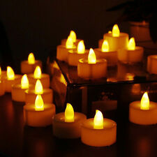 24pcs Flameless LED Tea Light Wedding Party Candles With Battery