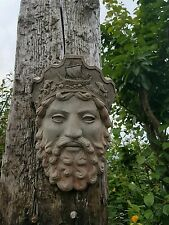 Ancient Greek God poseidon  Garden Mask Statue sculpture gift ornament sea