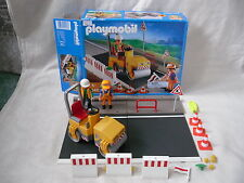 Playmobil 4048 Road Roller Playset Construction with Box