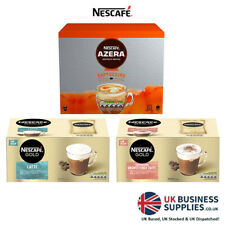 Nescafe Azera Latte & Cappuccino Sachets Buy ANY 3 and Get Standard UK FREE P&P