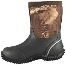 "NEW! Smoky Mountain Boots - YOUTH - CAMO Amphibian 8"" - Waterproof - Neoprene"