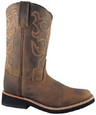 NEW! Smoky Mountain Boots - TODDLER - Western Cowboy - Leather - Square Toe