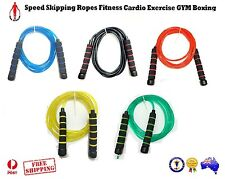 FAST FOAM GRIP SPEED SKIPPING ROPES FITNESS CARDIO EXERCISE GYM BOXING MMA SPORT