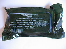 1/5/10/20 New Israeli Army Field Bandage Sterile Combat Wound Dressing First Aid