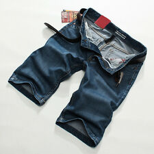 Summer Fashion Short Straight Jeans Men's Denim Shorts Pants Casual Trousers New