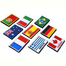 Fashion Nation Flag Emblem Patch Embroidered Applique National Country Sew Trim