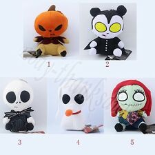 Nightmare Before Christmas Jack/Sally/Zero Dog/Pumpkin King Soft Plush Doll Toy