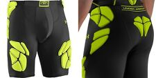 Under Armour MENS Gameday 5-Pad Football Girdle W/ Cup Pocket Black, 1236239 NEW