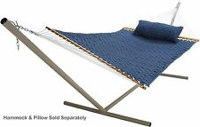 Pawleys Island Tri Beam Steel Double Hammock Stand Taupe Black Green Bronze New
