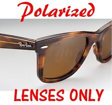 POLARIZED BROWN Ray Ban RB 2140 Wayfarer Replacement Lenses 54mm 50mm B-15