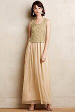 NWT Anthropologie Beaded Arabella Maxi Dress sz XS and S