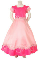 Girl Pageant Easter Flower Girl Formal Party Dress Pink Champagne Blue 4 6 8 10