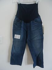"Oh Baby by Motherhood ""Secret Fit Belly"" Maternity Jean Capri, Sm or Lg, NWT-$44"