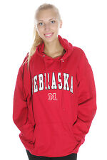 University of Nebraska Cornhuskers Hoodie Sweatshirt | Red | Size XL