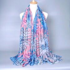 New Women's Lady Fashion Girls Long Soft Voile Scarf Wrap Shawl Scarves Stole