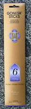 Gonesh Incense 4 Packs x 20, 80 Sticks You the Pick Fragrance Classic-Extra Rich