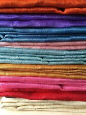 "SINAMAY FABRIC- For Hats & Craft use Various Colours 18""x36""/36X36"""