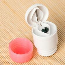 2-in-1 Travel Home Pill Cutter Crusher Powder Tablet Medicine Splitter Grinder