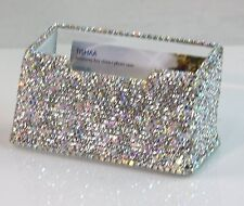 Beautiful Luxury High Quality Bling Crystal Decorative Business Card Holder ,USA